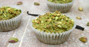 Zucchini Pistachio Cupcakes Recipe in Urdu