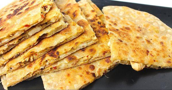 Chicken Cheese Paratha Recipe