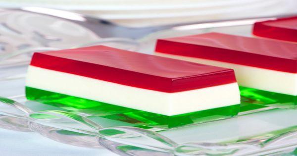 Christmas Jelly Slice کرسمس جیلی سلائس