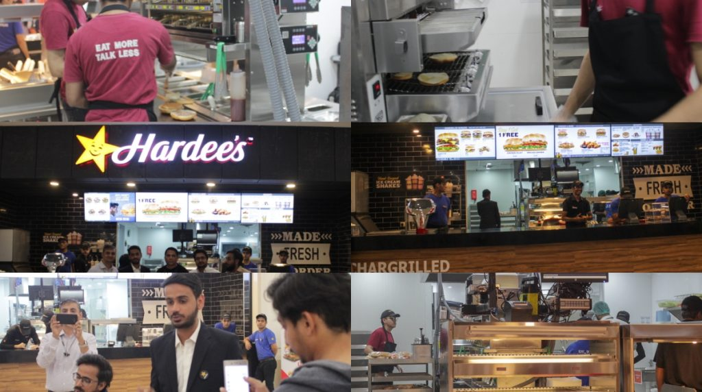 Hardees at luckyone