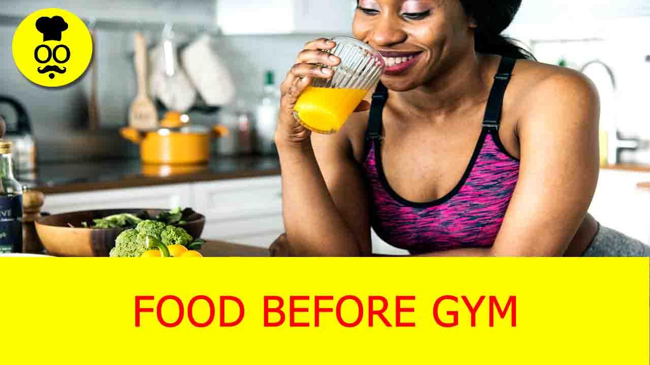 food before gym