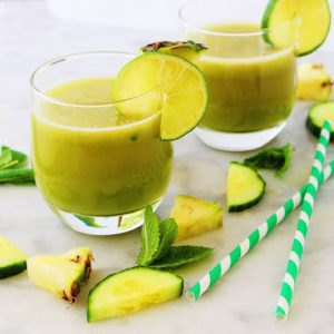 Pineapple Cucumber Drink Recipe in Urdu