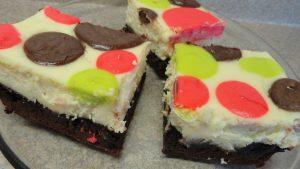 Polka Dot Cheese Cake