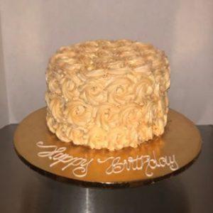 Buttercream Rosette Cake