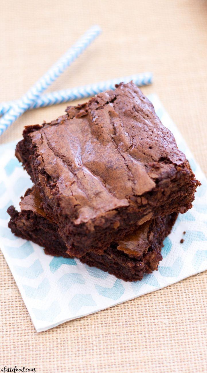 Chocolate Fudge Brownies 1