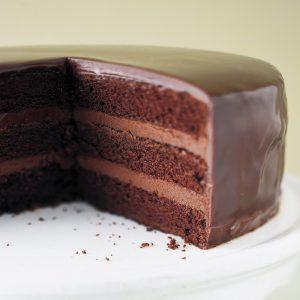 Chocolate Ganache Cake Recipe in Urdu