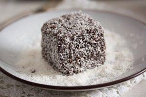 Chocolate Lamington Pound Cake Recipe in Urdu