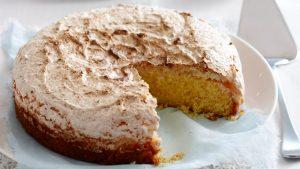 Chocolate Macaroons Cake