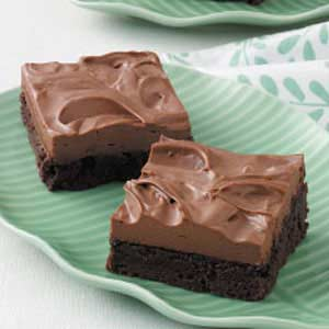 Chocolate Mousse Brownies Recipe in Urdu