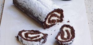 Chocolate Roulade Recipe in Urdu