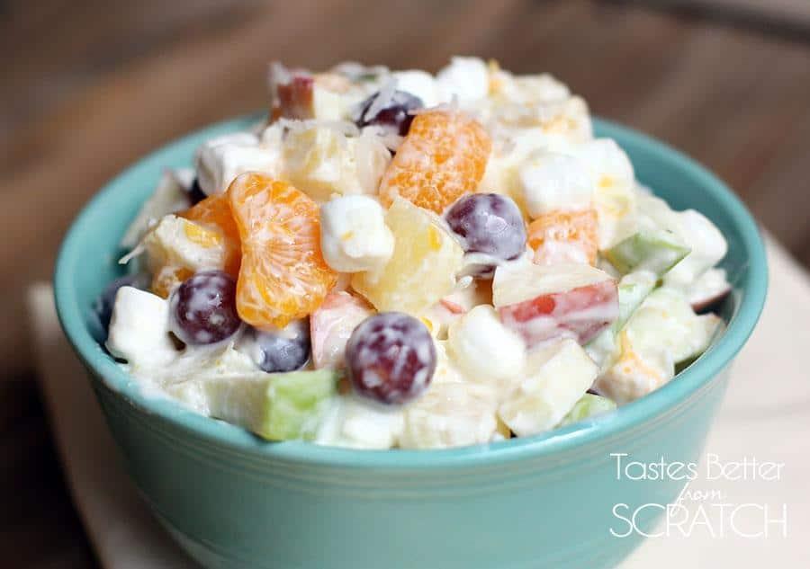 Creamy Fruit Salad 2 1