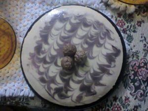 Mango & Chocolate Cheese Cake Recipe in Urdu