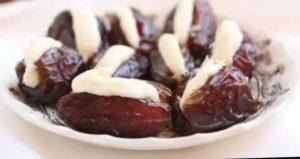 Creamy Filled Dates by Olpers Recipe in Urdu