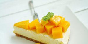 Mango Cheese Cake Recipe in Urdu