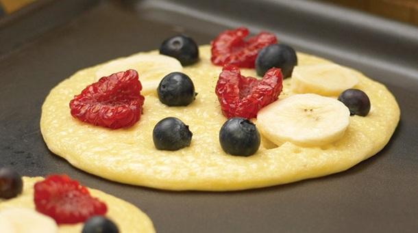 Mixed Fruit Pancake
