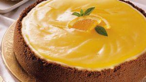 Orange Cheese Cake Recipe in Urdu
