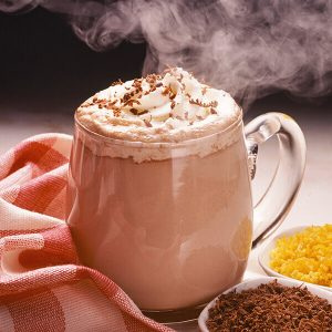 creamy  hot  coffee