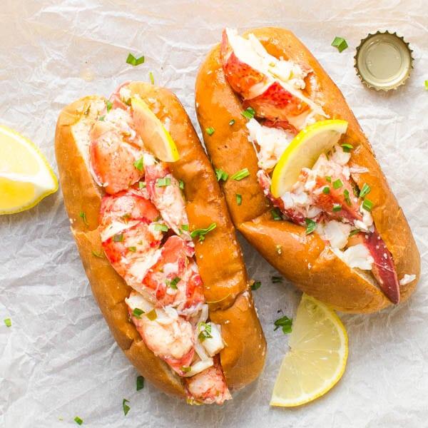 Creamy Lemon Butter Lobster Roll Recipe In Urdu