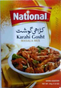 National's Homemade Karahi Gosht Recipe