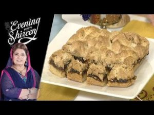 Almonds Dates Squares Recipe by Chef Shireen Anwar 10 April 2019