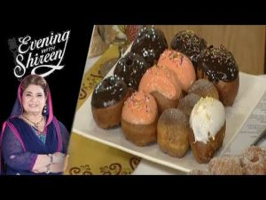 All Types Of Doughnuts Recipe by Chef Shireen Anwar 9 April 2019