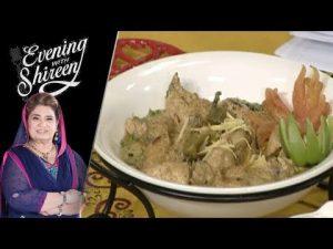 Koyla White Karahi Recipe by Chef Shireen Anwar 4 April 2019