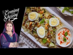 Qeema Malai Pulao Recipe by Chef Shireen Anwar 21 January 2019