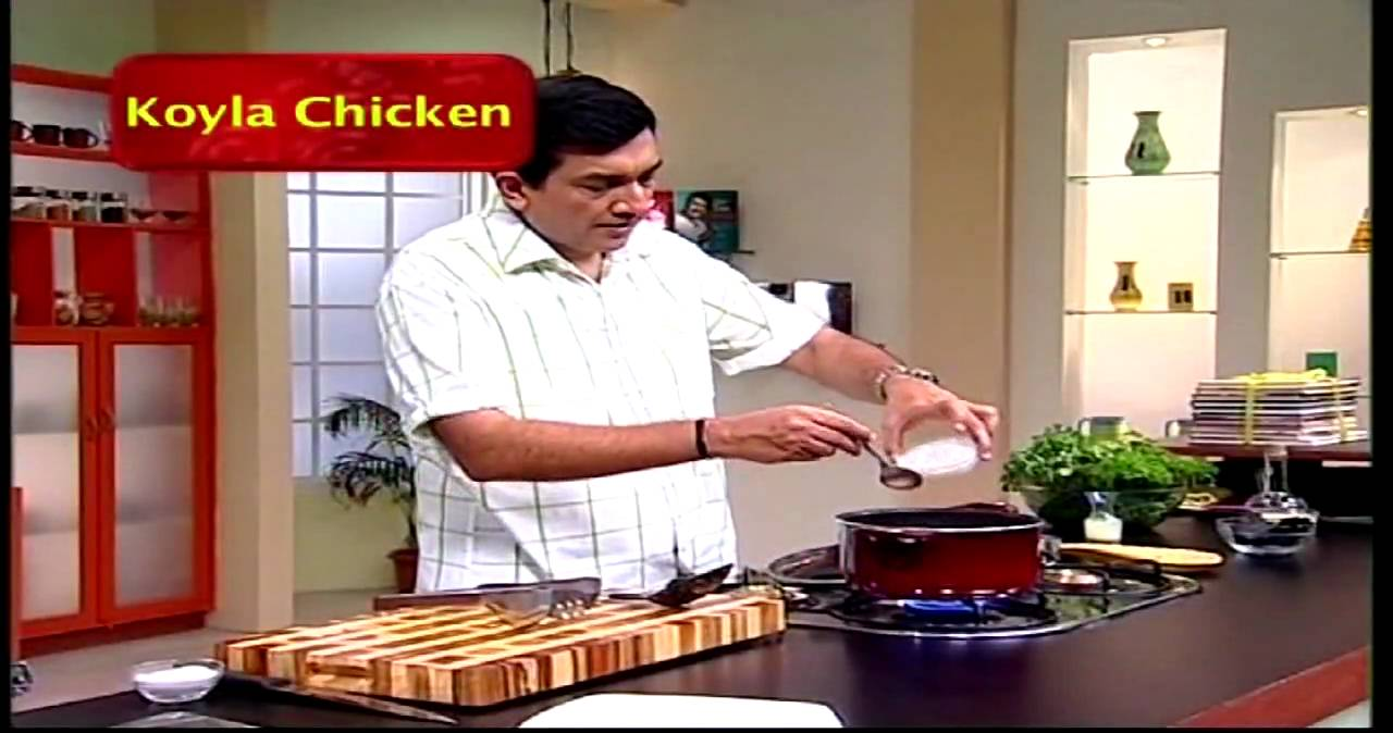 Koyla Chicken By Sanjeev Kapoor The Cook Book