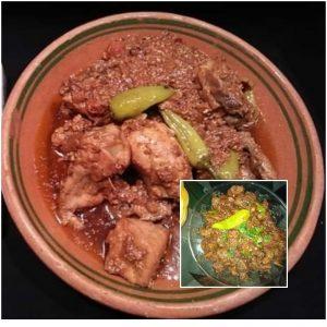 National's Chicken karhahi recipe
