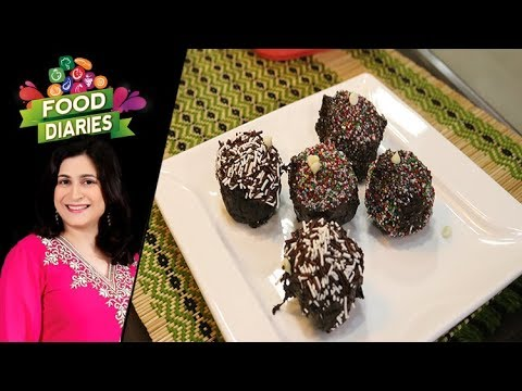 Chocolate Balls Recipe by Chef Zarnak Sidhwa 24 July 2019
