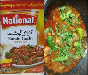 National's Homemade Spicy Chicken Karahi Recipe
