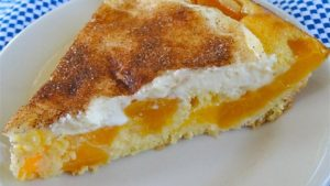 Award Winning Peaches and Cream Pie Recipe in Urdu