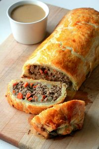 Baked Mince Roll Recipe in Urdu