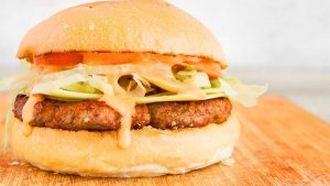 Special Beef Cheese Burger Recipe in Urdu