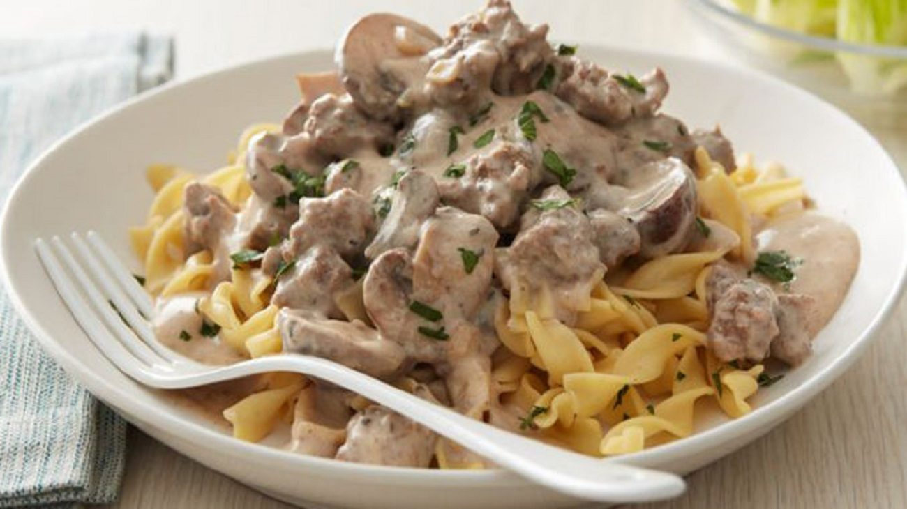 Beef with Pasta Recipe
