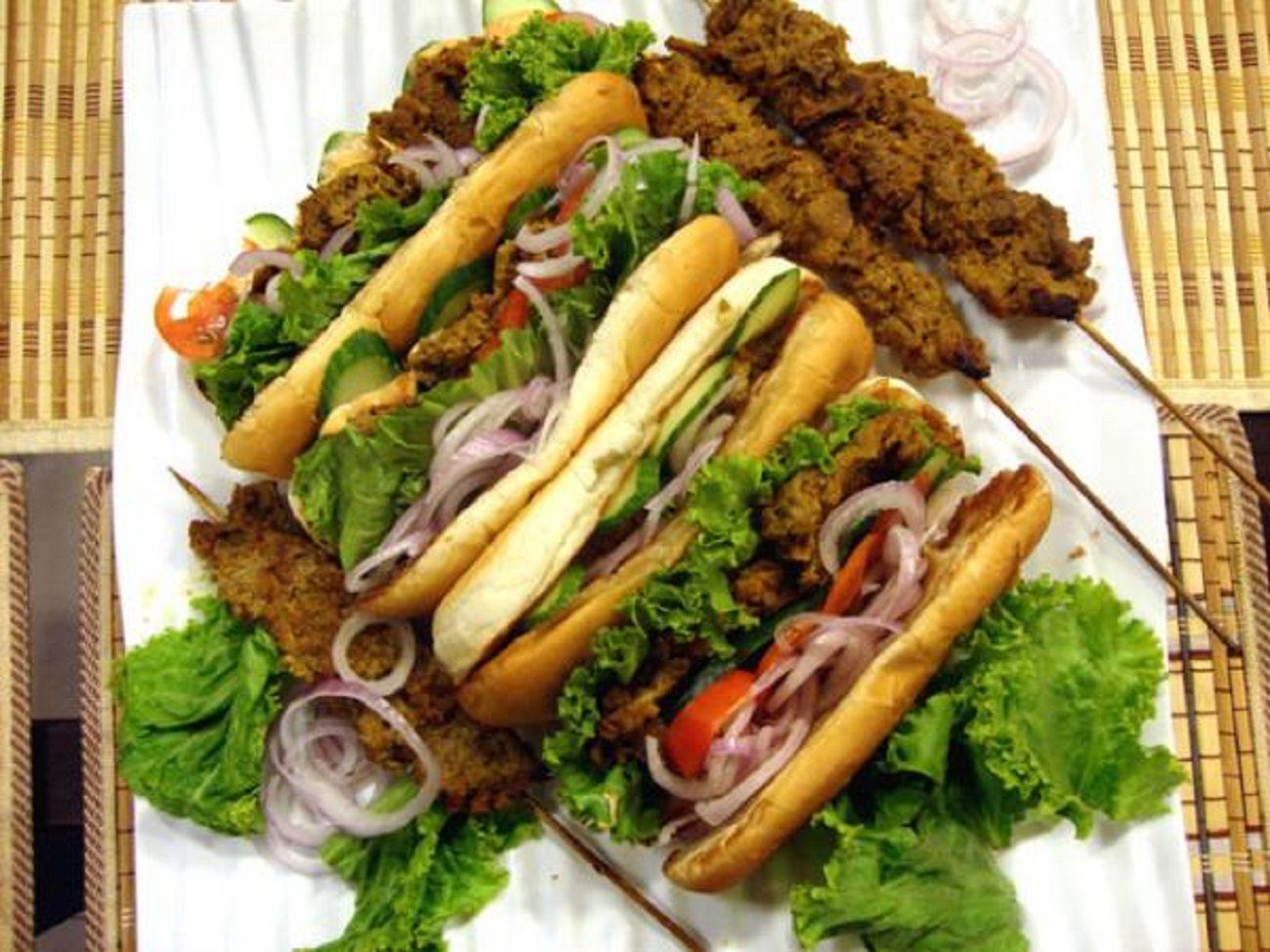 Behari Boti Burger
