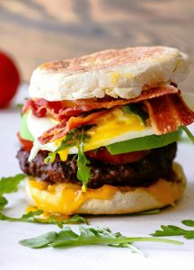 Breakfast Burger Recipe in Urdu