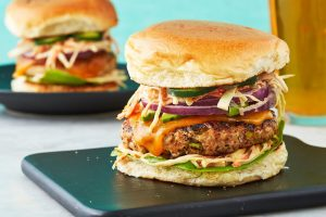 Special Chicken Burger Recipe in Urdu