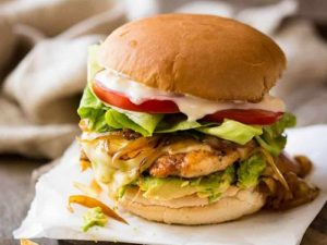 Chicken Fillet Burger Recipe in Urdu