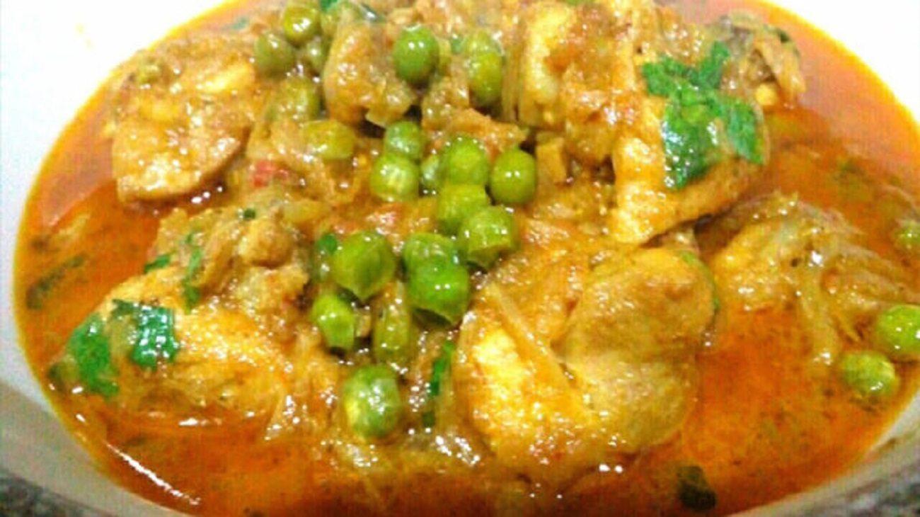 Chicken Hara Moti Recipe