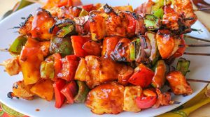 Chicken Hawaiian Shashlik Recipe in Urdu