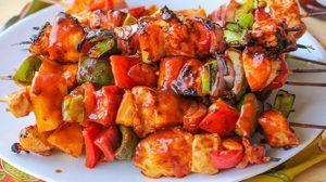 Chicken Hawaiian Shashlik Recipe in Urdu