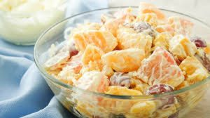 Cream Cheese Fruit Salad Recipe in Urdu