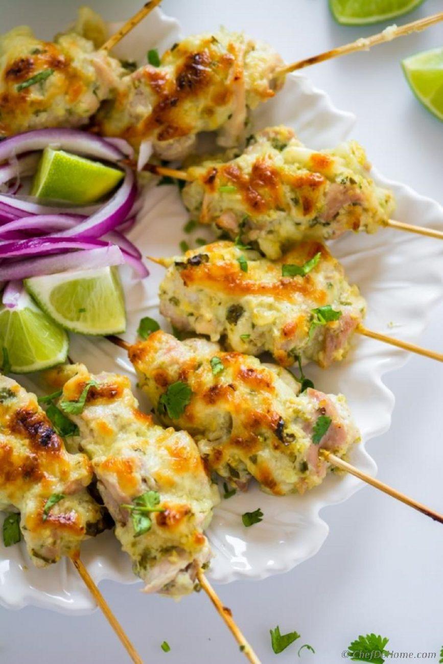 Cream Spice Chicken Malai Masala Chicken