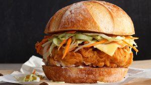 Crispy Burger Recipe in Urdu