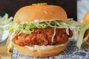 Special Crunchy Fillet Burger Recipe in Urdu