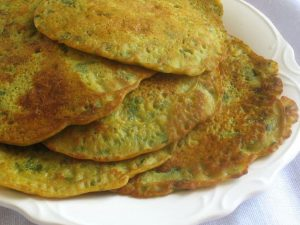 Fenugreek Rice Pancake Recipe in Urdu