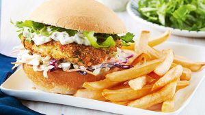 Fish Burger And Tartar Sauce Recipe in Urdu