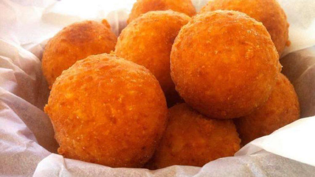 Fried Semolina Ball Recipe