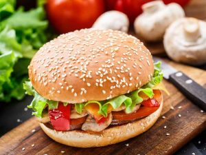 Hunter Beef Burger With Mustard Sauce Recipe in Urdu